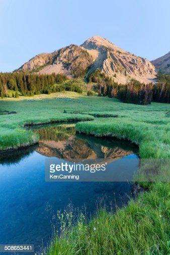 Mountain Reflection : Stock Photo