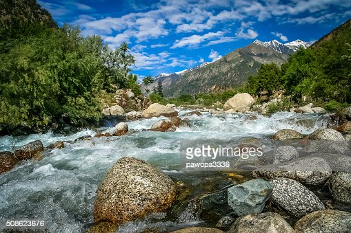 Mountain river : Stock Photo