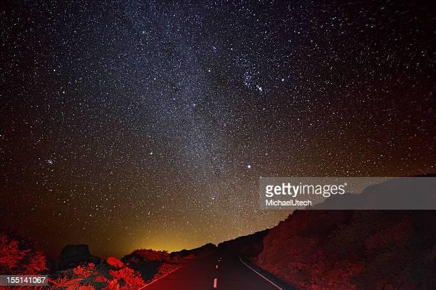 Mountain Road und Milkyway