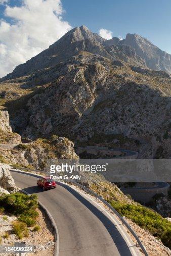 Mountain road : Foto stock