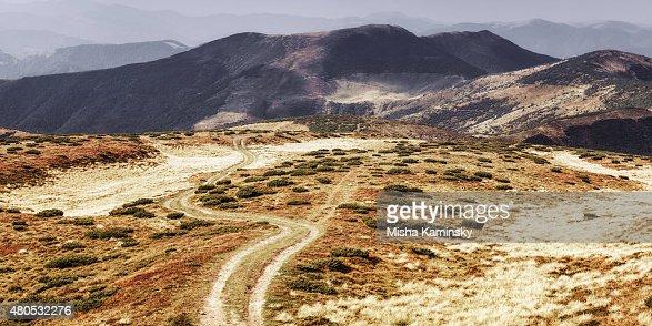 Mountain road : Stock-Foto