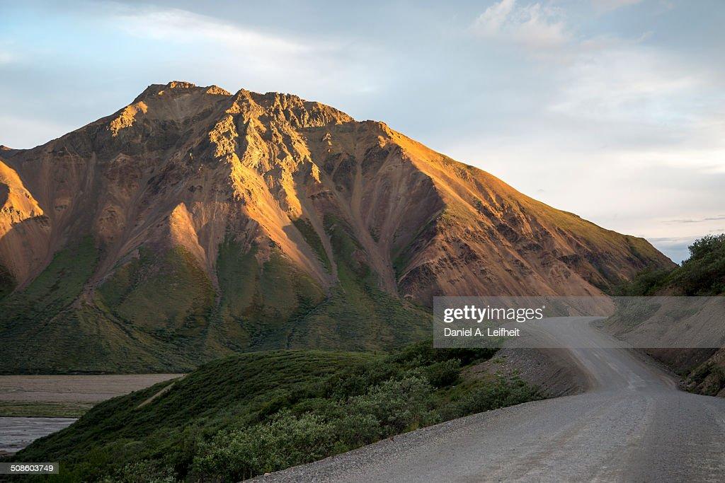 Mountain road : Foto de stock