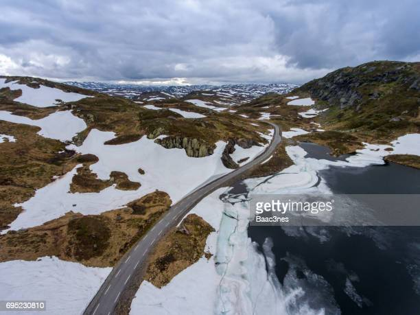 Mountain road - Sirdal, Norway