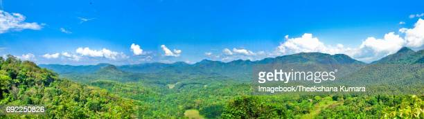 Mountain scenery over Aranayake