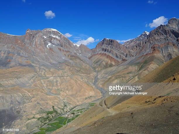 Mountain Scenery-Zanskar Trek-Ladakh-India