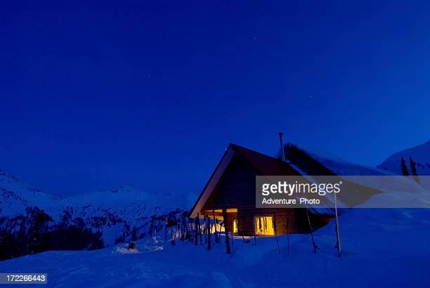 Mountain Ski Lodge - Selkirk Mountains Canada