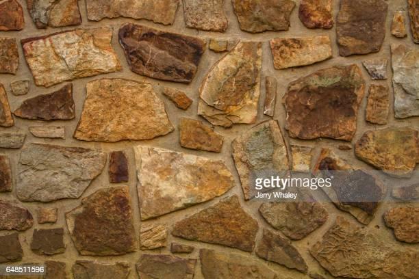 Mountain Stone Masonry Pattern on Wall