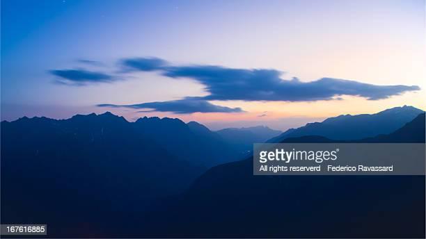 Mountain Sunset - Mt. Gargas