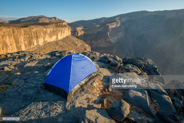 Mountain top camp
