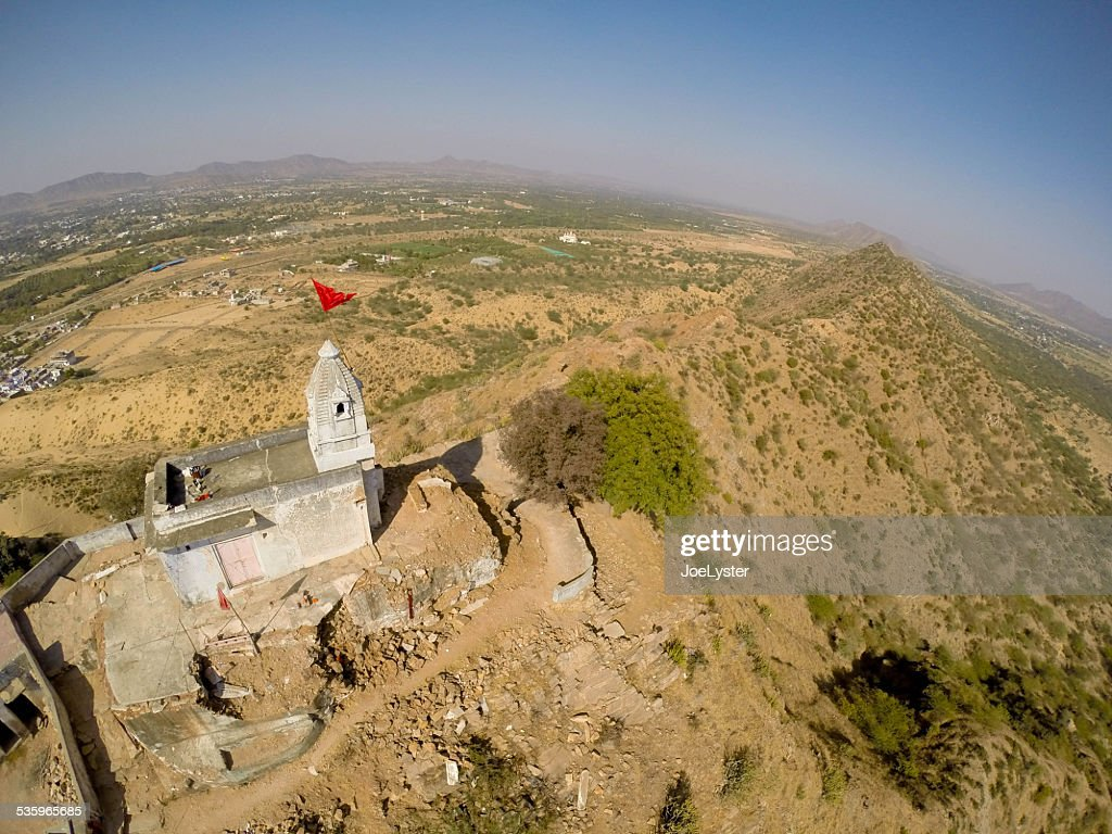 Mountain Top Temple : Stock Photo