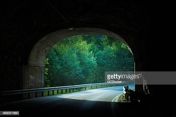 Mountain-Tunnel