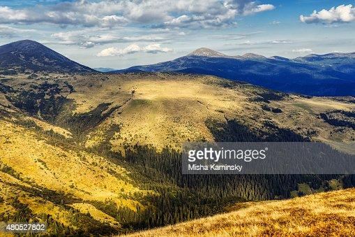 Mountain valley : Stock Photo