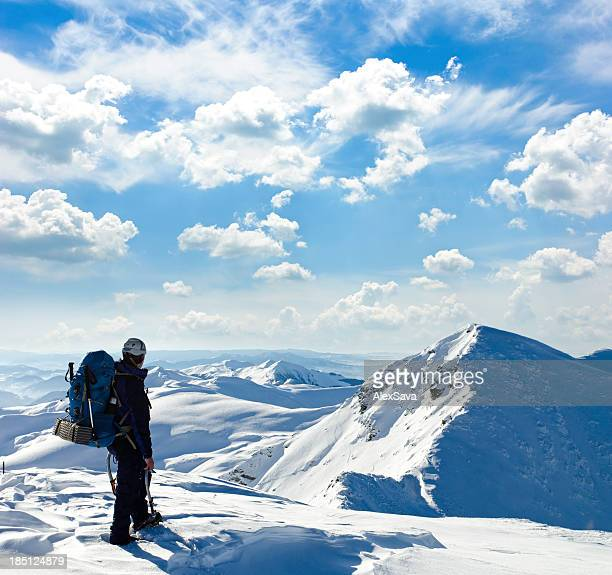 mountaineer vers le summit