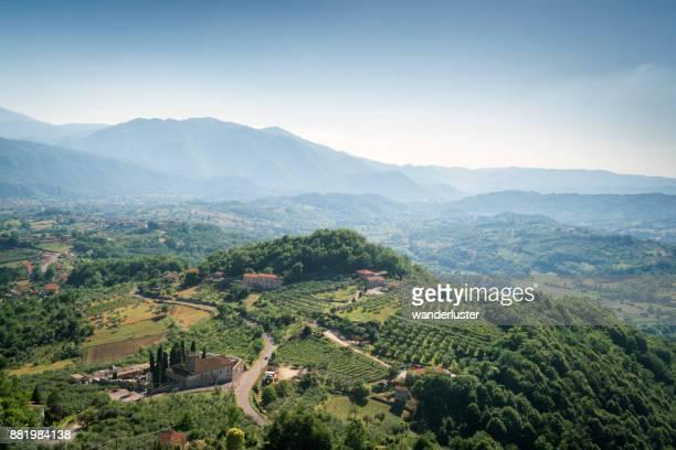 mountainous area of Picinisco, Abruzzo