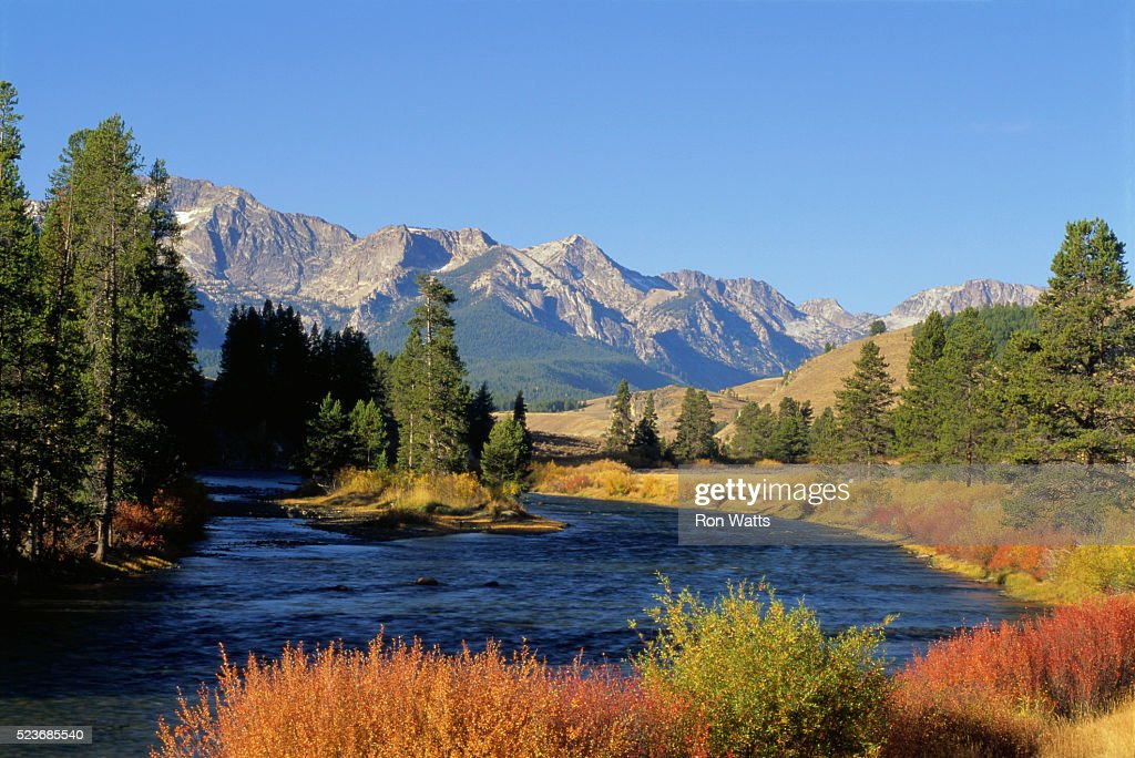 Mountains and Salmon River