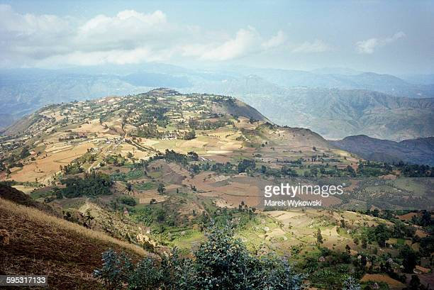 Mountains in Ethiopia