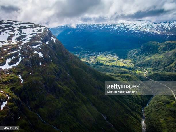 Mountains in Odda