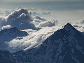Mountains in the clouds
