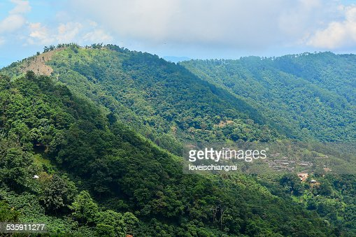 Mountains in the North of Thailand : Stock Photo