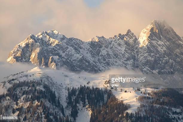 Gebirge im winter