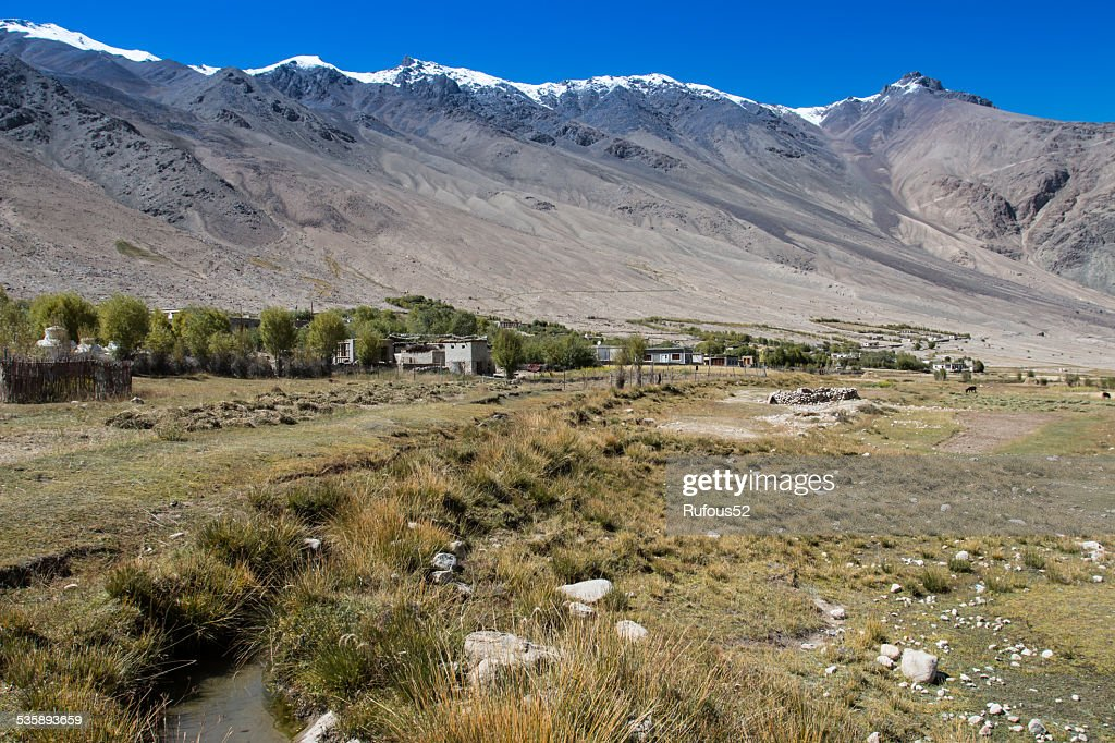 Mountains, Ladakh, India : Stock Photo