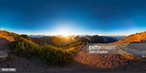Berge Landschaft (360-Grad-Panorama)