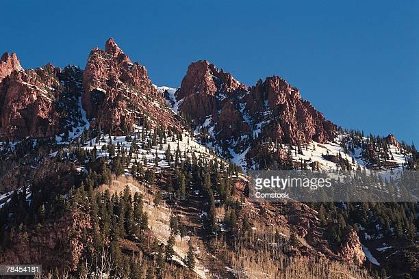 Mountains near Aspen in Colorado