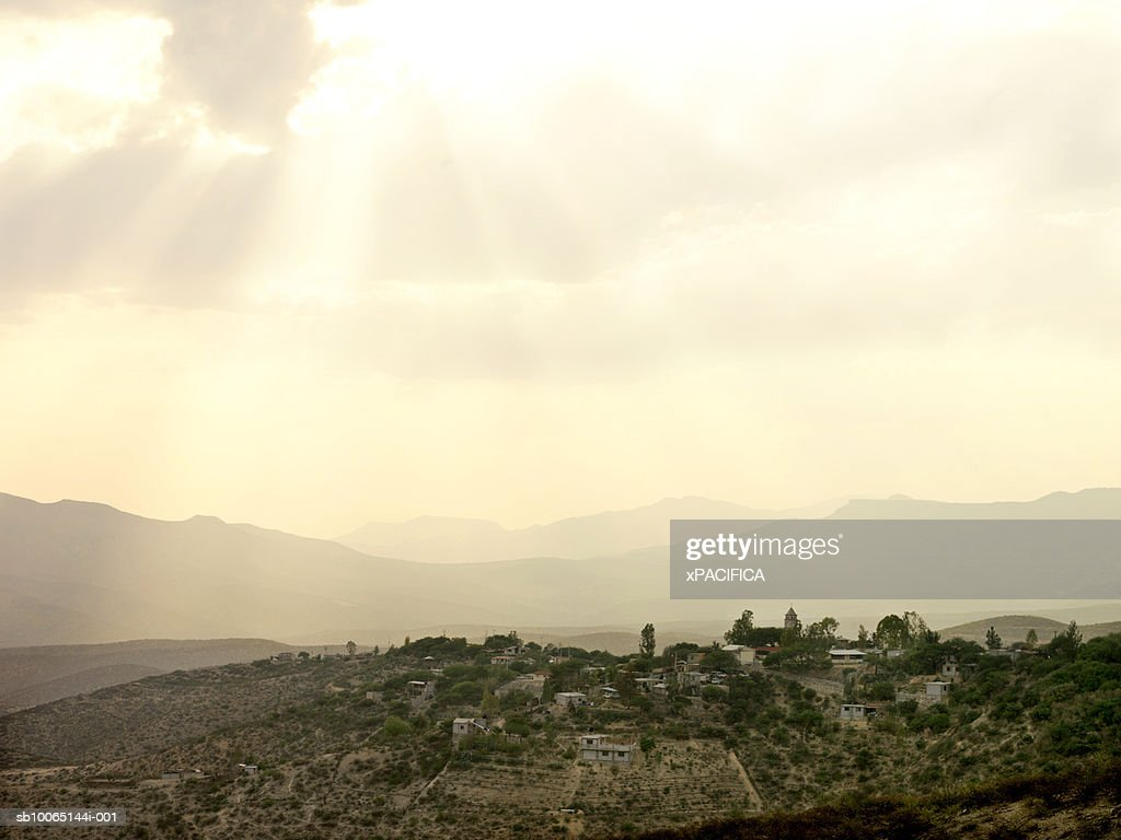 Mountains of northern central Mexico : Stock Photo