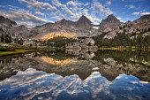 Mountains Reflected in Lake Ediza