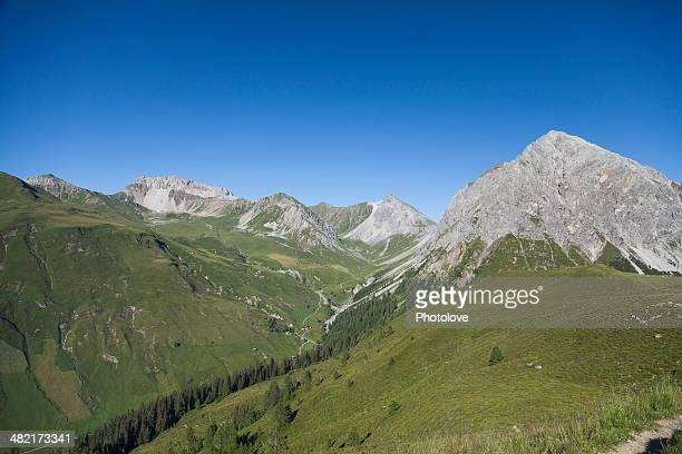 Mountains, Schanfigg, Graubuenden, Switzerland