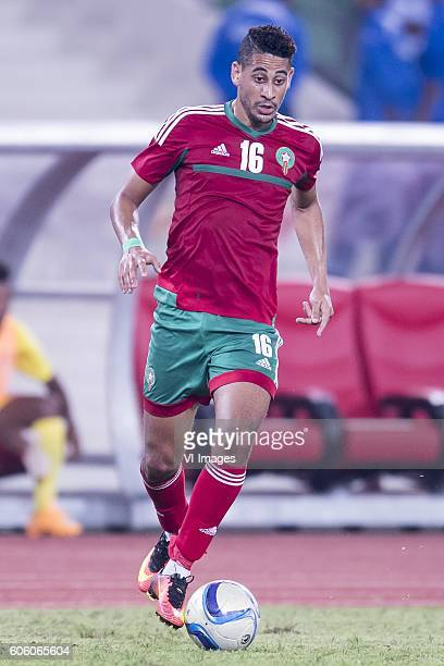 Mourad Batna of Morocco during the Africa Cup of Nations match between Morocco and Sao Tome E Principe at September 4 2016 at the Complexe Sportif...