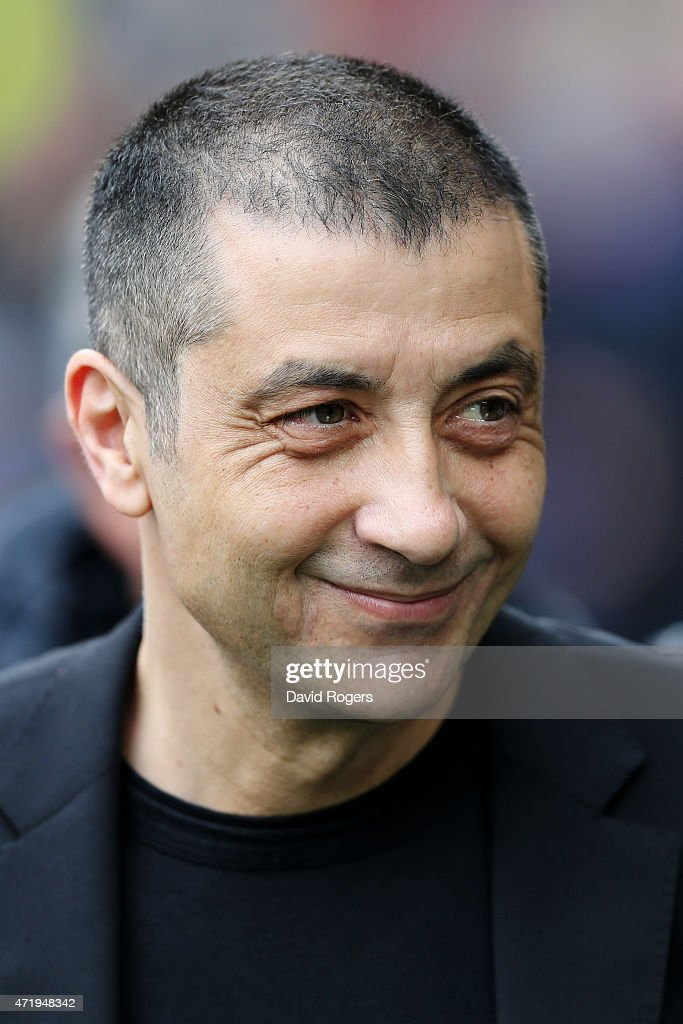 <a gi-track='captionPersonalityLinkClicked' href=/galleries/search?phrase=Mourad+Boudjellal&family=editorial&specificpeople=3974182 ng-click='$event.stopPropagation()'>Mourad Boudjellal</a> the club owner of Toulon looks on during the European Rugby Champions Cup Final match between ASM Clermont Auvergne and RC Toulon at Twickenham Stadium on May 2, 2015 in London, England.
