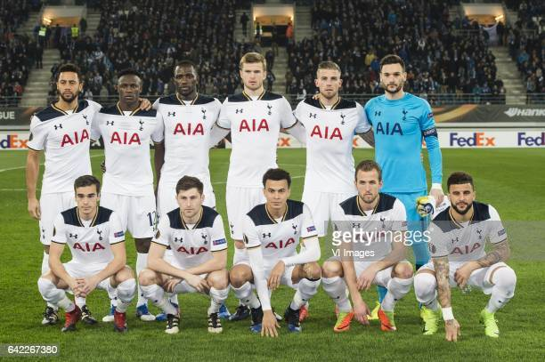 Mousa Dembele of Tottenham Hotspur FC Victor Wanyama of Tottenham Hotspur FC Moussa Sissoko of Tottenham Hotspur FC Eric Dier of Tottenham Hotspur FC...
