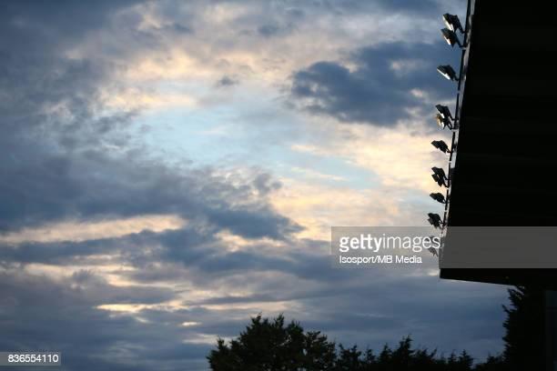 20170820 Mouscron Belgium / Excel Mouscron v Kaa Gent / 'nIllustration sky spotlights'nFootball Jupiler Pro League 2017 2018 Matchday 4 / 'nPicture...