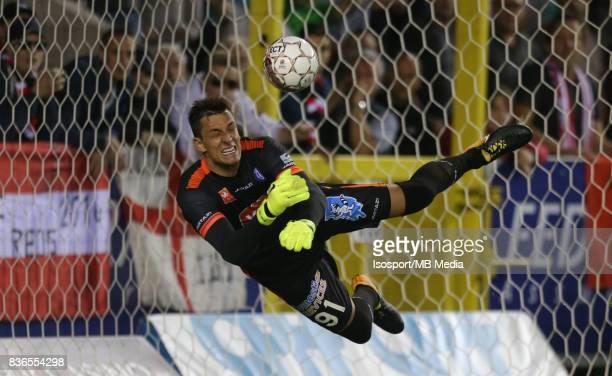 20170820 Mouscron Belgium / Excel Mouscron v Kaa Gent / 'nLovre KALINIC Penalty'nFootball Jupiler Pro League 2017 2018 Matchday 4 / 'nPicture by...