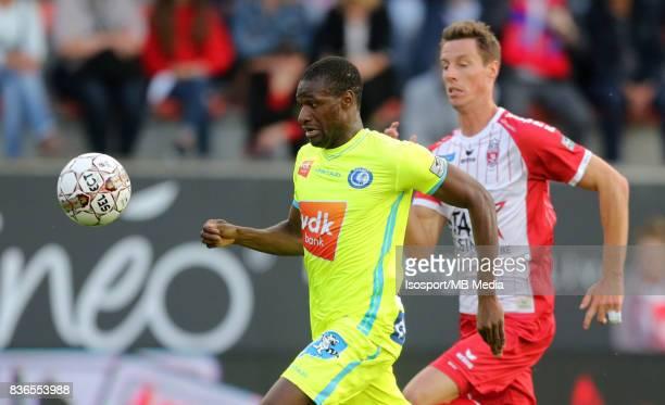 20170820 Mouscron Belgium / Excel Mouscron v Kaa Gent / 'nMamadou SYLLA 'nFootball Jupiler Pro League 2017 2018 Matchday 4 / 'nPicture by Vincent Van...