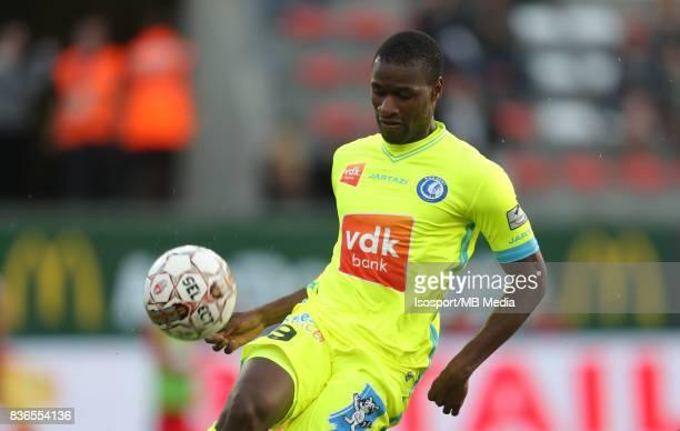 20170820 Mouscron Belgium / Excel Mouscron v Kaa Gent / 'nMamadou SYLLA'nFootball Jupiler Pro League 2017 2018 Matchday 4 / 'nPicture by Vincent Van...