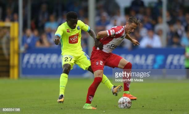 20170820 Mouscron Belgium / Excel Mouscron v Kaa Gent / 'nMoses SIMON Mergim VOJVODA'nFootball Jupiler Pro League 2017 2018 Matchday 4 / 'nPicture by...