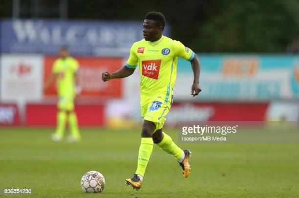 20170820 Mouscron Belgium / Excel Mouscron v Kaa Gent / 'nMoses SIMON'nFootball Jupiler Pro League 2017 2018 Matchday 4 / 'nPicture by Vincent Van...