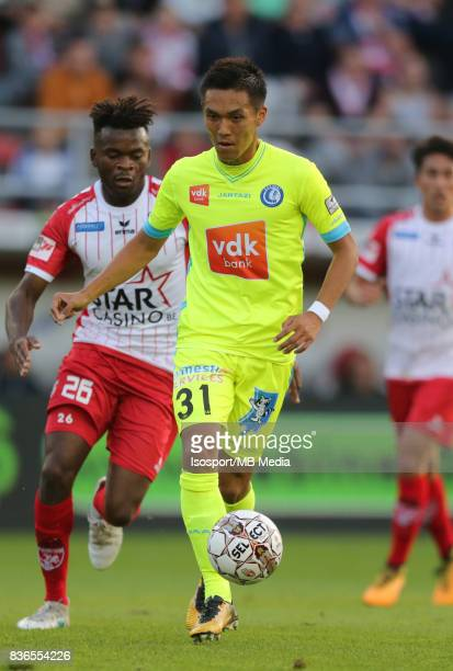 20170820 Mouscron Belgium / Excel Mouscron v Kaa Gent / 'nYuya KUBO'nFootball Jupiler Pro League 2017 2018 Matchday 4 / 'nPicture by Vincent Van...