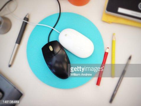 Mouse couple : Stock Photo