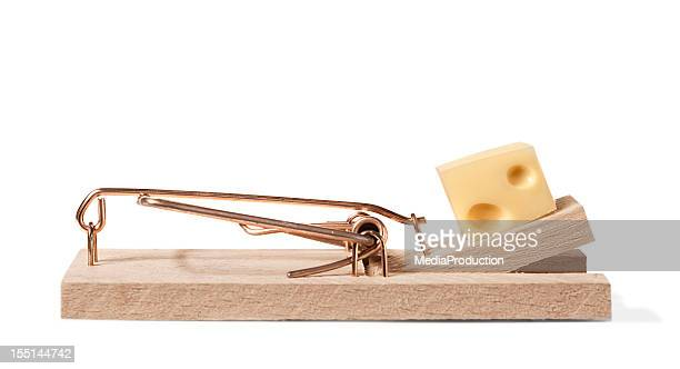 Mouse trap with clipping path