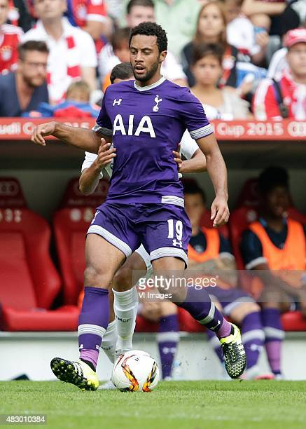 Moussa Dembele of Tottenham Hotspur during the AUDI Cup match between Real Madrid and Tottenham Hotspur on August 4 2015 at the Allianz Arena in...