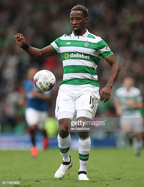 Moussa Dembélé of Celtic in action during the Betfred Cup Semi Final match between Rangers and Celtic at Hampden Park on October 23 2016 in Glasgow...