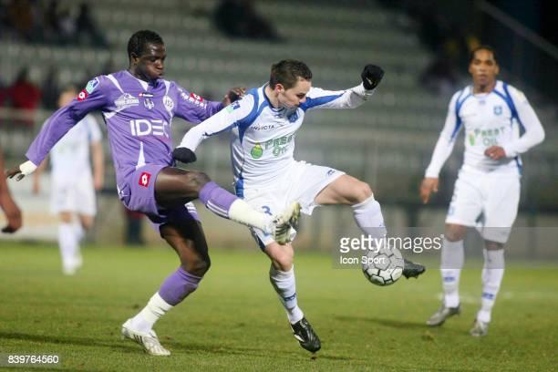 Moussa SISSOKO / Kevin LEJEUNE Auxerre / Toulouse 25e journee Ligue 1