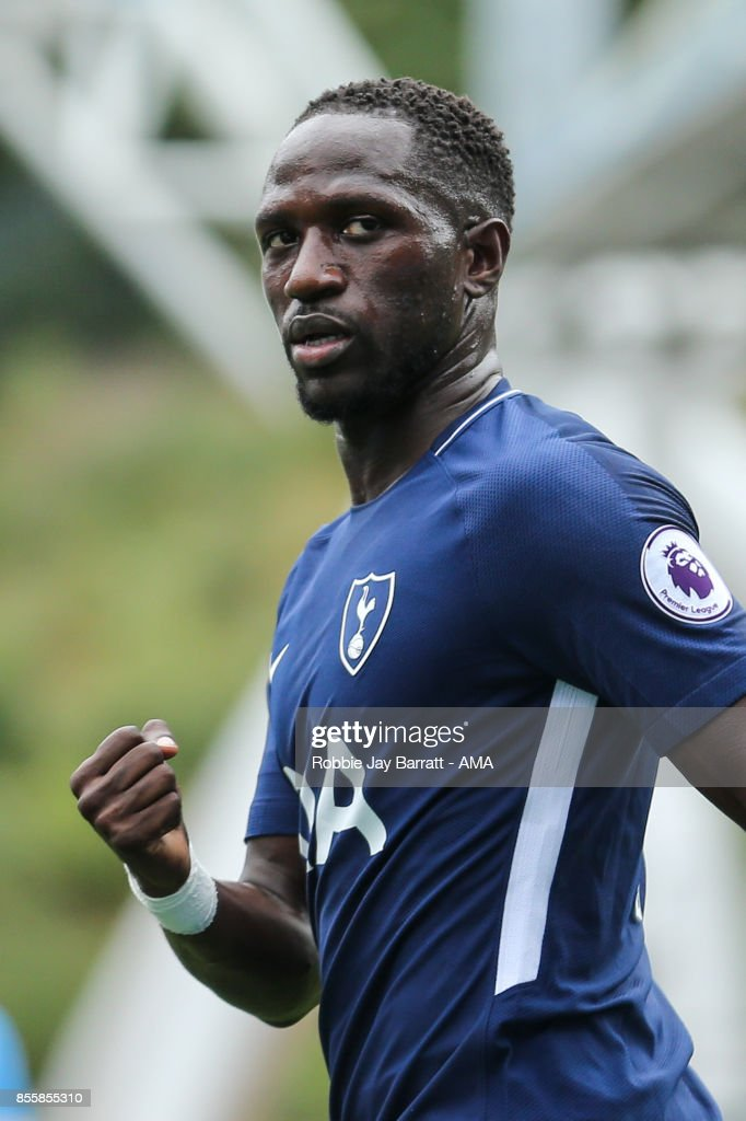 Moussa Sissoko of Tottenham Hotspur celebrates after scoring a goal to make it 0-4 during the Premier League match between Huddersfield Town and Tottenham Hotspur at John Smith's Stadium on September 30, 2017 in Huddersfield, England.