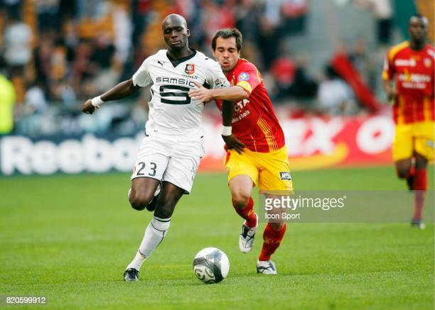 Moussa SOW / Marco RAMOS Lens / Rennes 5e journee Ligue 1