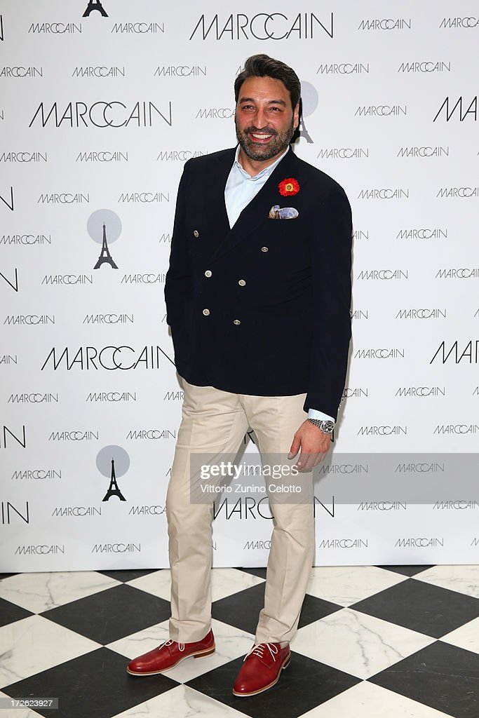 Mousse T attends the Marc Cain Photocall during the Mercedes-Benz Fashion Week Spring/Summer 2014 at the Hotel Adlon on July 4, 2013 in Berlin, Germany.