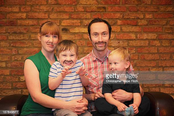 Moustache family