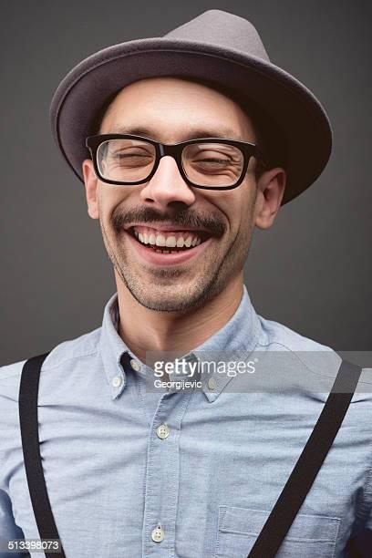 Moustache guy